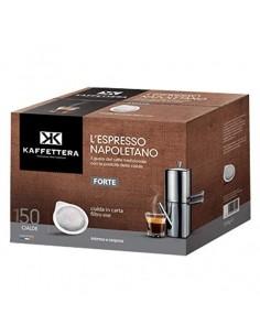 150 Cialde carta ese 44mm Kaffettera + kit accessori
